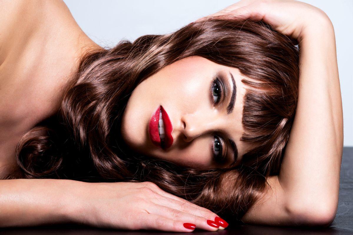 modelki brunetki z Warszawy